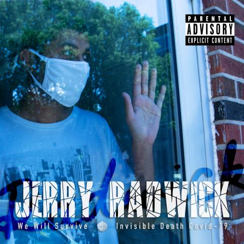 "Cover art for the song ""Invisible Death Covid-19"" by Jerry Radwick"